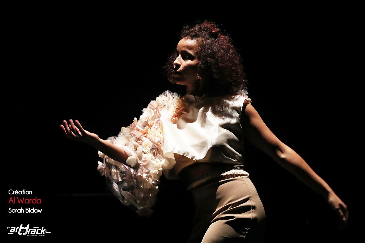 Sarah Bidaw - Solo au Flow. Photo Alexis Christiaen ( Pib) - La Voix du Nord